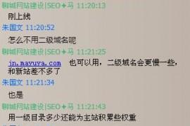 """做""""济南SEO""""关键词排名为什么不用二级域名呢?"""
