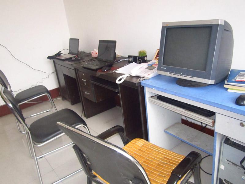 易胜博公司SEO马玉雅的办公室